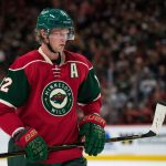 Sep 27, 2016; Saint Paul, MN, USA; Minnesota Wild forward Eric Staal (12) during a preseason hockey game against the Colorado Avalanche at Xcel Energy Center. The Avalanche defeated the Wild 4-1. Mandatory Credit: Brace Hemmelgarn-USA TODAY Sports