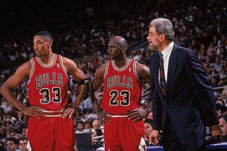 Michael Jordan and Crew